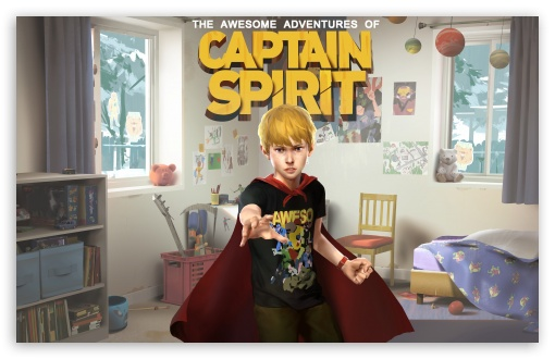 Download The Awesome Adventures of Captain Spirit UltraHD Wallpaper