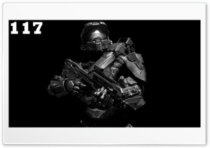 Master Chief BW