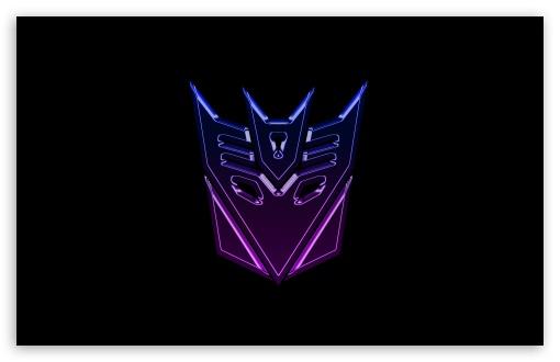 Download Transformers Decepticons Logo Widescreen UltraHD Wallpaper