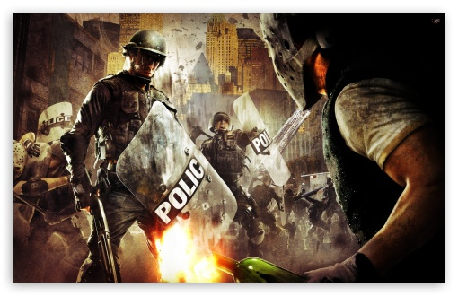 Download Urban Chaos Riot Response UltraHD Wallpaper