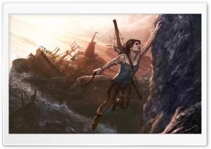 Lara Croft A Survivor Is Born