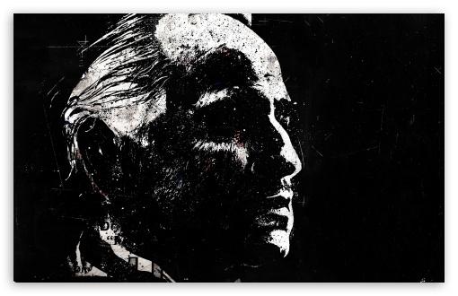 Download Portrait Of Don Vito Corleone UltraHD Wallpaper