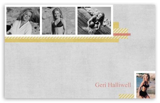 Download Geri Halliwell Young UltraHD Wallpaper