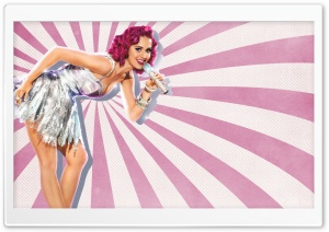 Katy Perry Pin-Up Style