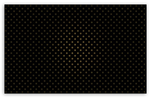 Download Golden Flowers Pattern UltraHD Wallpaper