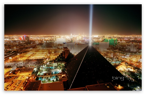 Download Las Vegas At Night UltraHD Wallpaper