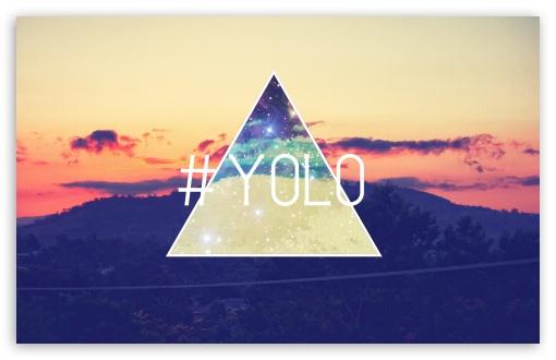 Download Sunset Triangles UltraHD Wallpaper