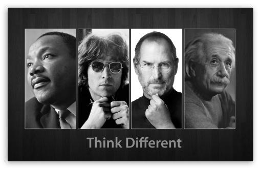 Download Think Different UltraHD Wallpaper