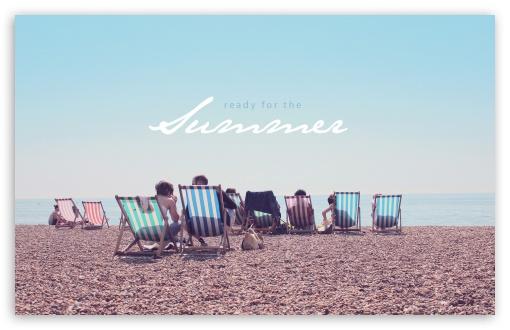 Download Summer Beach UltraHD Wallpaper
