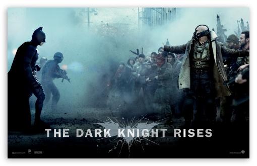 Download The Dark Knight Rises Bane Vs Batman UltraHD Wallpaper