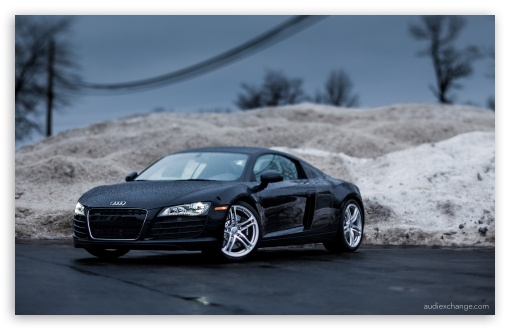 Download Audi R8 - Tilt Shift Lens UltraHD Wallpaper