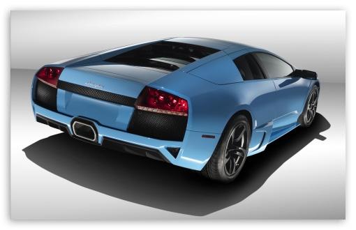 Download Blue Lamborghini Reventon 1 UltraHD Wallpaper