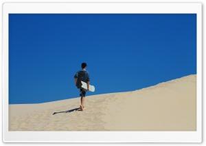 Walk Up The Dunes