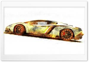 Lamborghini Veneno Gold Edition