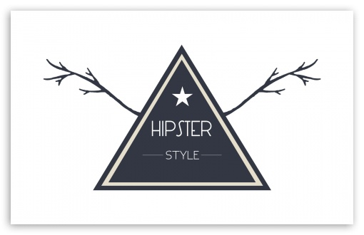 Download Hipster Style Badge UltraHD Wallpaper