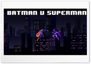 8-bit Batman v Superman