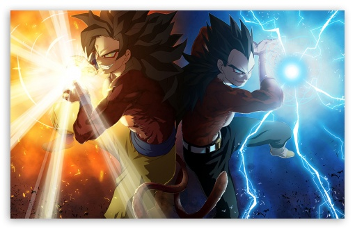 Download Vegeta and Goku by Madan UltraHD Wallpaper