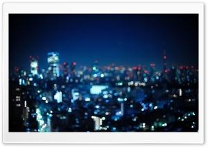 Tokyo, Japan   Bokeh City