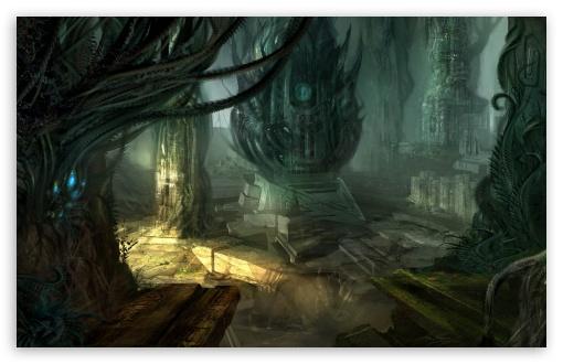 Download Aliens Cave UltraHD Wallpaper