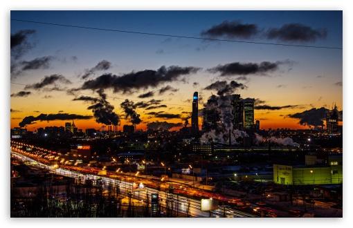 Download Moscow city 2014 UltraHD Wallpaper