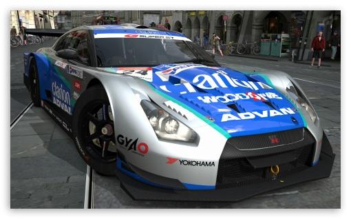 Download Nissan GTR ADVAN UltraHD Wallpaper