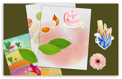 Download Cute Cards UltraHD Wallpaper