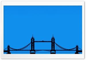 London Tower Bridge Silhouette