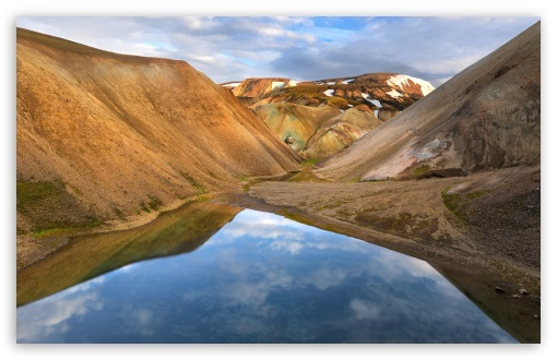 Download Mountains of Iceland UltraHD Wallpaper