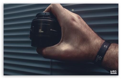 Download Canon 50mm UltraHD Wallpaper