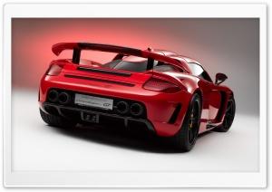 Red Porsche Carrera GT