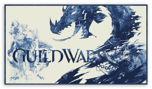 Download Guild Wars 2 - Blue 3 Toned UltraHD Wallpaper