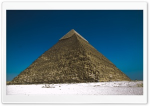 The Pyramids At Giza, Egypt