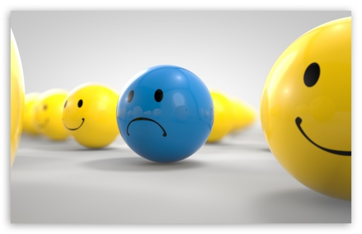 Download Sad Ball UltraHD Wallpaper