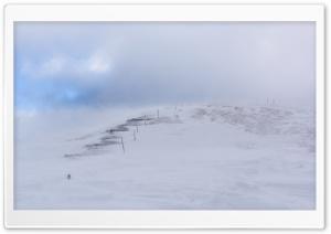 Mountain Stairway, Snow, Winter