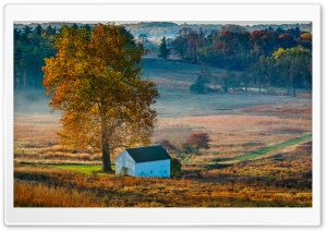 Autumn Picturesque Landscape