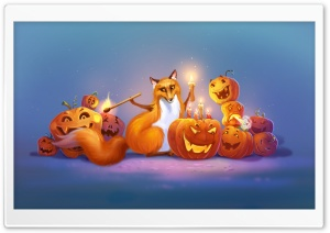 Halloween Fox Art