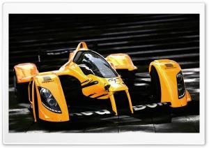 Racing Orange Car