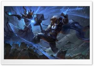 Smite, Thor vs Hades Concept Art