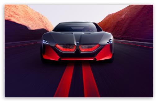 Download 2019 BMW Vision M NEXT Sports Car, Road UltraHD Wallpaper