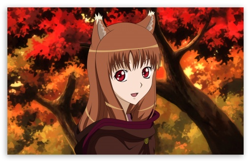 Download Spice And Wolf, Horo UltraHD Wallpaper
