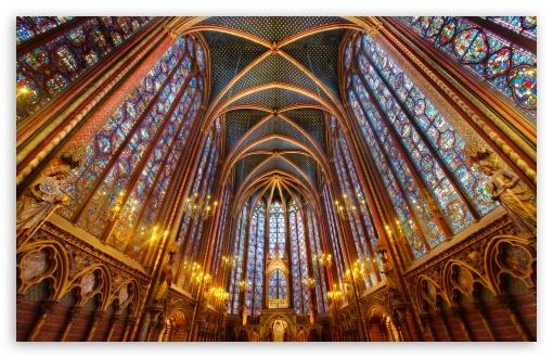 Download Cathedral Interior UltraHD Wallpaper