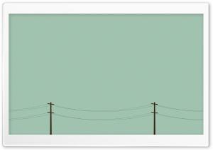 Telegraph Poles Vector Art