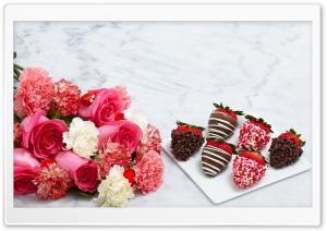 Chocolate Dipped Strawberries...
