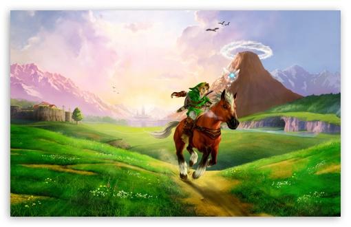 Download The Legend of Zelda Ocarina of Time 3D UltraHD Wallpaper