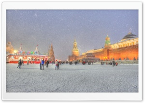Red Square Moscow Russia...