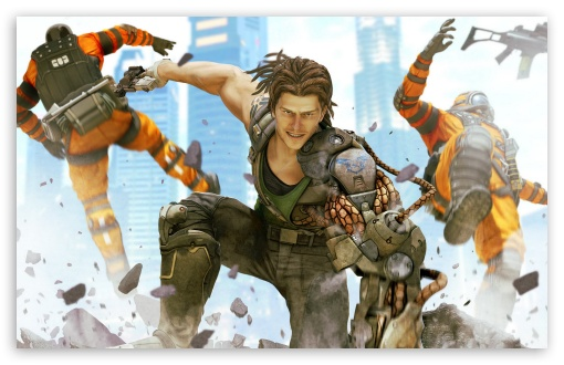 Download Bionic Commando UltraHD Wallpaper