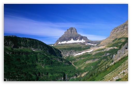 Download Lone Mountain UltraHD Wallpaper