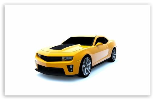 Download Camaro ZL1 3D Rendered UltraHD Wallpaper