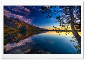 Beautiful Lake Reflection, HDR