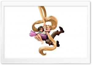 Tangled Rapunzel And Flynn Ryder